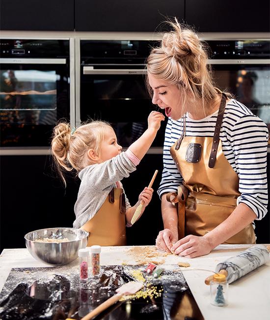 witloft keuken moeder kind